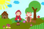 Chapeuzinho Vermelho painel festa infantil banner (8)