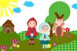 Chapeuzinho Vermelho painel festa infantil banner (7)