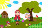 Chapeuzinho Vermelho painel festa infantil banner (2)