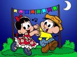 chico bento e rosinha painel festa infantil banner dkorinfest (1)