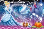 cinderela painel festa infantil banner dkorinfest (25)