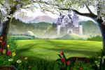 castelo painel festa infantil  banner dkorinfest (7)
