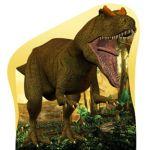 dinossauros display cenario de chao mdf totem dkorinfest (143)
