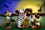 disney safari painel festa infantil banner dkorinfest (6)
