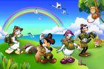 disney safari painel festa infantil banner dkorinfest (2)