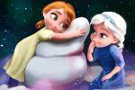 frozen baby painel festa infantil banner dkorinfest (5)