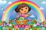 dora e diego painel festa infantil banner dkorinfest (3)