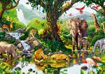 floresta safari painel festa infantil banner dkorinfest (3)