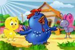 galinha pintadinha painel festa infantil banner dkorinfest (1)