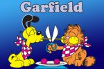 Garfield painel festa infantil banner dkorinfest (5)