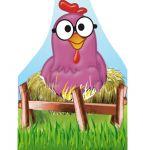 galinha pintadinha display cenario de chao totem mdf dkorinfest (61)