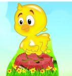 galinha pintadinha display cenario de chao totem mdf dkorinfest (49)