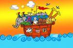 arca de noe painel festa infantil banner dkorinfest (5)