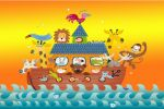 arca de noe painel festa infantil banner dkorinfest (3)