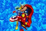 Marvel  e dc comics painel festa infantil dkorinfest (32)