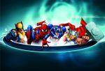 Marvel  e dc comics painel festa infantil dkorinfest (28)