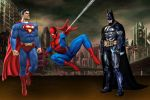 Marvel  e dc comics painel festa infantil dkorinfest (20)