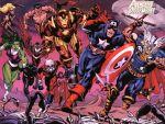 Marvel  e dc comics painel festa infantil dkorinfest (13)