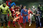 Marvel  e dc comics painel festa infantil dkorinfest (9)