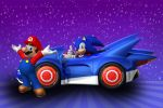 Mario E Sonic painel festa infantil banner dkorinfest (10)