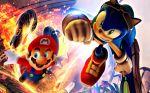 Mario E Sonic painel festa infantil banner dkorinfest (5)