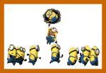 Meu Malvado Favorito Minions painel festa infantil banner dkorinfest (4)