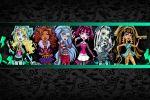 Monster High painel festa infantil banne dkorinfest (8)