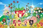 Moranguinho painel festa infantil banner dkorinfest (6)