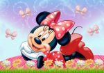 Minnie Mouse Vermelha painel festa infantil banner dkorinfest(42)
