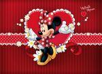 Minnie Mouse Vermelha painel festa infantil banner dkorinfest(36)