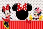 Minnie Mouse Vermelha painel festa infantil banner dkorinfest(31)