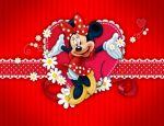 Minnie Mouse Vermelha painel festa infantil banner dkorinfest(30)