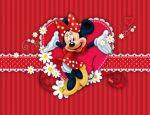 Minnie Mouse Vermelha painel festa infantil banner dkorinfest(29)