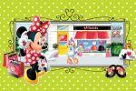 Minnie Mouse Vermelha painel festa infantil banner dkorinfest(26)