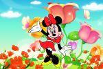 Minnie Mouse Vermelha painel festa infantil banner dkorinfest(24)