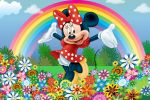 Minnie Mouse Vermelha painel festa infantil banner dkorinfest(8)