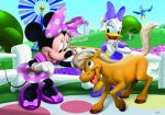 Minnie Mouse Rosa painel festa infantil banner dkorinfest (25)