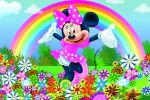 Minnie Mouse Rosa painel festa infantil banner dkorinfest (11)