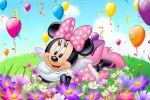 Minnie Mouse Rosa painel festa infantil banner dkorinfest (10)