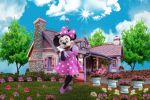 Minnie Mouse Rosa painel festa infantil banner dkorinfest (7)
