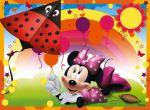 Minnie Mouse Rosa painel festa infantil banner dkorinfest (1)