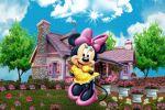 Minnie Mouse painel festa infantil banner dkorinfest (1)