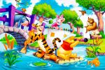 Ursinho Pooh  painel festa infantil banner dkorinfest (1)