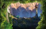enrolados rapunzel painel festa infantil banner dkorinfest (9)