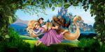 enrolados rapunzel painel festa infantil banner dkorinfest (3)