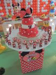 Decoração Provençal da Minnie Vermelha