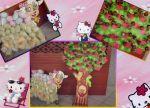 Árvore da Maça e Ovelha do Algodão Doce!