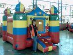 PISCINA DE BOLINHAS INFLÁVEL (2 em 1 - Pula Pula com bolinhas) - Suporta crianças até 9 anos