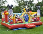 KID PLAY MICKEY E SEUS AMIGOS - Tamanho 4,20m (C) x 4,50m (L) x 2,65m (A) - Suporta crianças até 10 anos