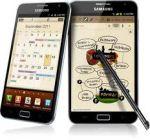neste aparelho desenho os clientes ao vivo para demonstrar os aplicativos moderno da samsumg